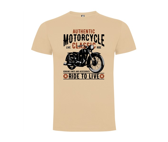 Moto majica Ride To Live