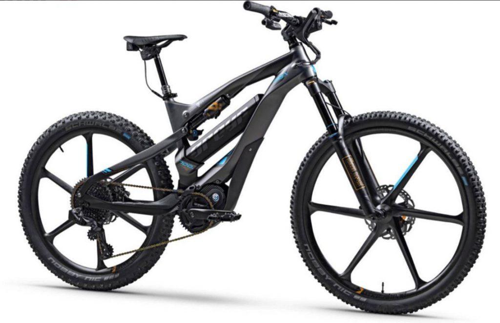 Električna kolesa dobivajo moč iz akumulatorja.